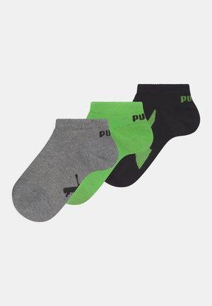 SNEAKER 3 PACK UNISEX - Socks - green flash