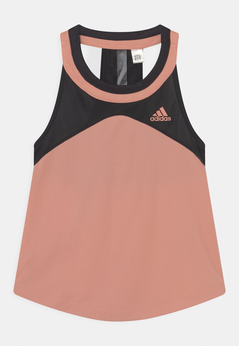 adidas Performance - CLUB - Koszulka sportowa - ambient blush/black