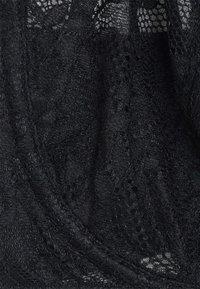 Boux Avenue - MOLLIE NON PAD PLUNGE - Sujetador sin aros - black - 5