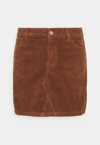 ONLY - ONLSKY ENY LIFE SKIRT - Denim skirt - rustic brown - 0