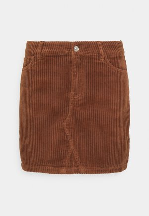 ONLSKY ENY LIFE SKIRT - Denim skirt - rustic brown