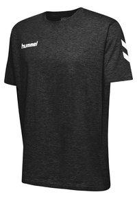 Hummel - HMLGO - Print T-shirt - black - 2