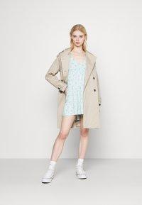 Hollister Co. - SHORT DRESS - Vestido ligero - mint - 1