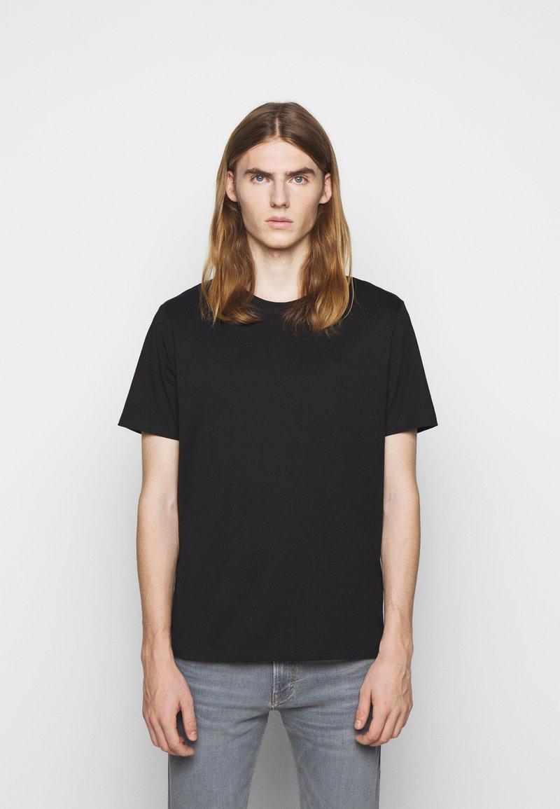 HUGO - DERO - Jednoduché triko - black