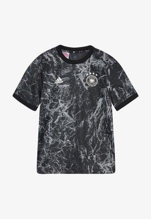 DFB DEUTSCHLAND PRESHI Y - T-shirt imprimé - black/grey heather