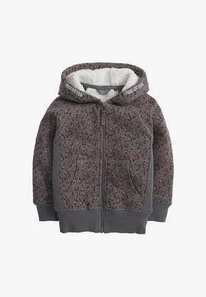 Zip-up hoodie - multi-coloured