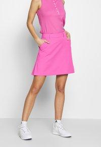 Kjus - IRIS SKORT LONG - Sportovní sukně - pink divine - 0