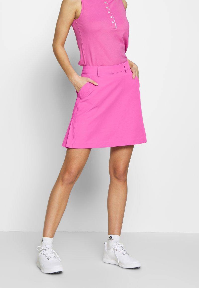Kjus - IRIS SKORT LONG - Sportovní sukně - pink divine