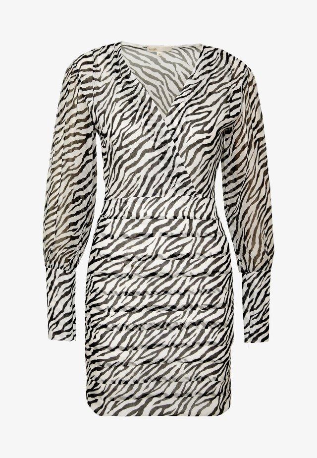 RIBANE - Sukienka letnia - noir/blanc