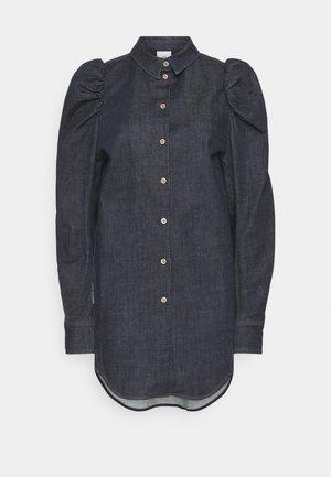 ELLEN - Denim dress - rinse blue