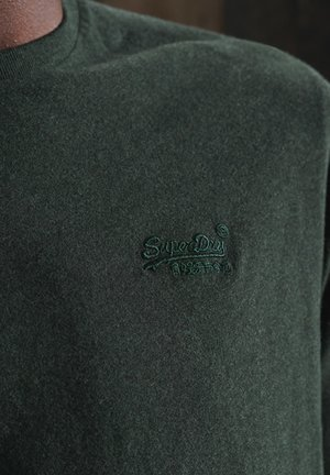 VINTAGE EMB LS  - Long sleeved top - campus green grit