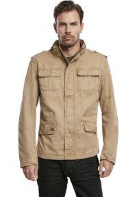 Brandit - HERREN BRITANNIA JACKET - Summer jacket - camel - 0