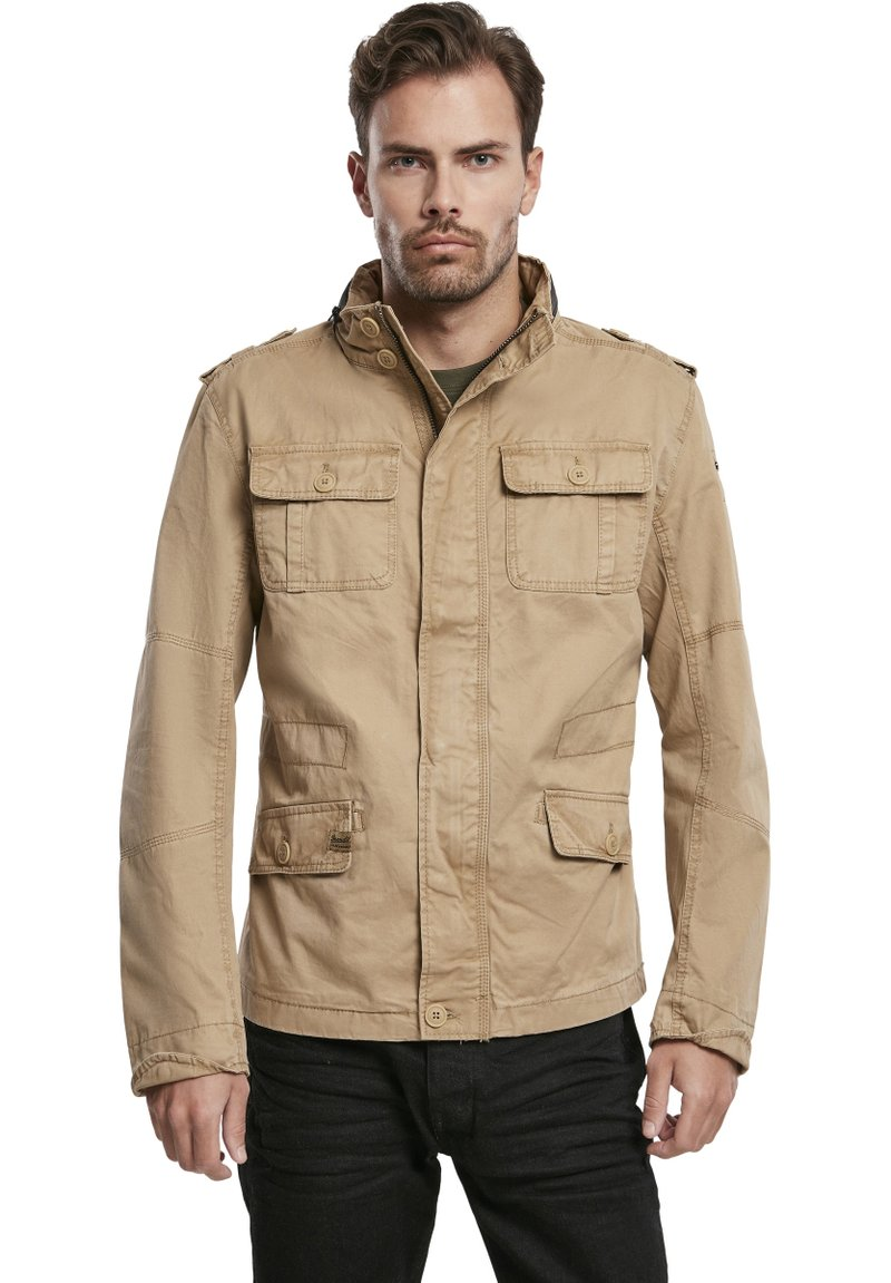 Brandit - HERREN BRITANNIA JACKET - Summer jacket - camel