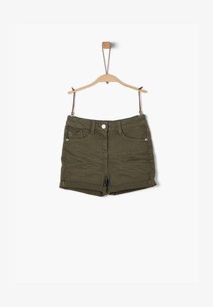 Shorts - khaki/oliv