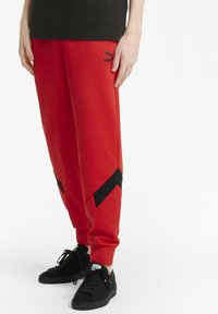 Puma - Tracksuit bottoms - high risk red - 0