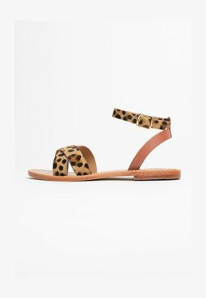 BRIONE - Sandales - leopard print