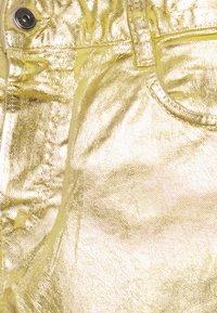Just Cavalli - PANTS POCKETS - Kalhoty - gold - 2