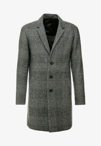 Jack & Jones PREMIUM - JPRMOULDER CHECK COAT - Classic coat - grey melange - 4