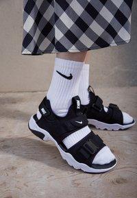 Nike Sportswear - CANYON SLIDE - Sandalias - black/white - 2