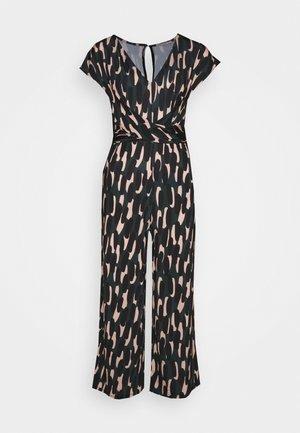 Overall / Jumpsuit /Buksedragter - black/multi-coloured