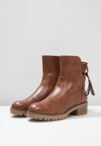 Anna Field - Lace-up ankle boots - cognac - 4