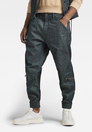 GSRR 3D PILOTTE - Jeans Relaxed Fit - wakoucha denim/raw denim