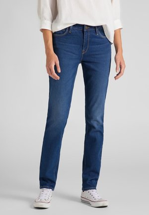 ELLY - Slim fit jeans - mid stone sitka