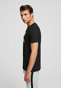 KARL LAGERFELD - KARL IKONIK - Print T-shirt - black - 3