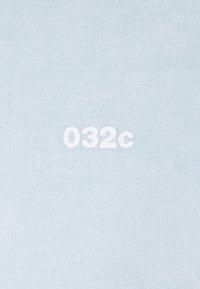 032c - HEAT SENSITIVE CREWNECK - Mikina - ex neon blue - 8