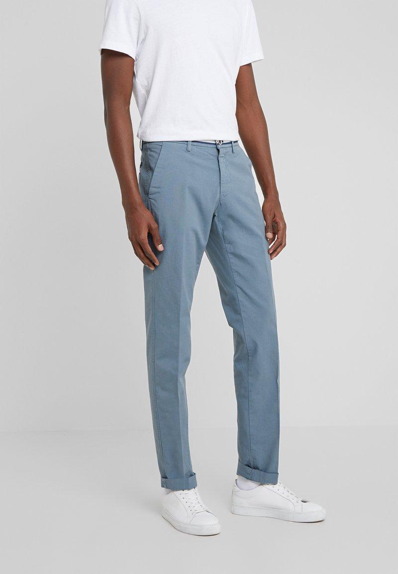 Mason's - TORINO SUMMER - Chino kalhoty - blaugrau