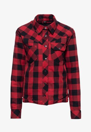 Overhemdblouse - rot