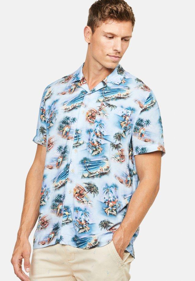 YURI - Overhemd - hellblau
