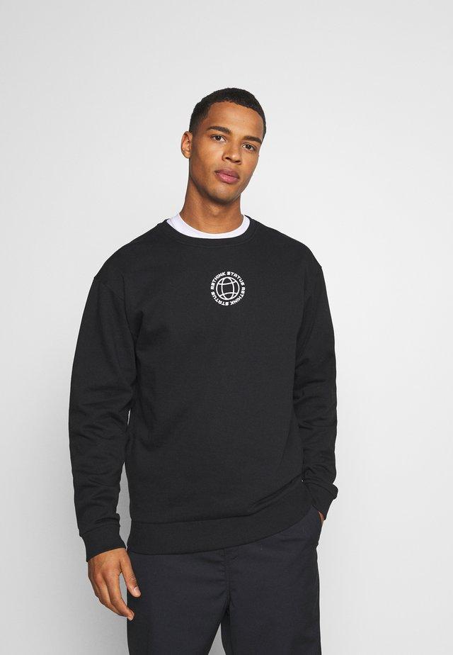 CREWNECK UNISEX - Sweatshirts - black