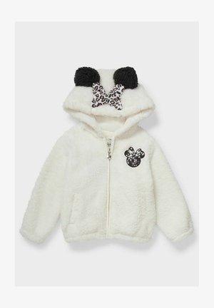 MINNIE MOUSE DISNEY - Fleece jacket - cremewhite