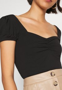Even&Odd - Basic T-shirt - black - 5