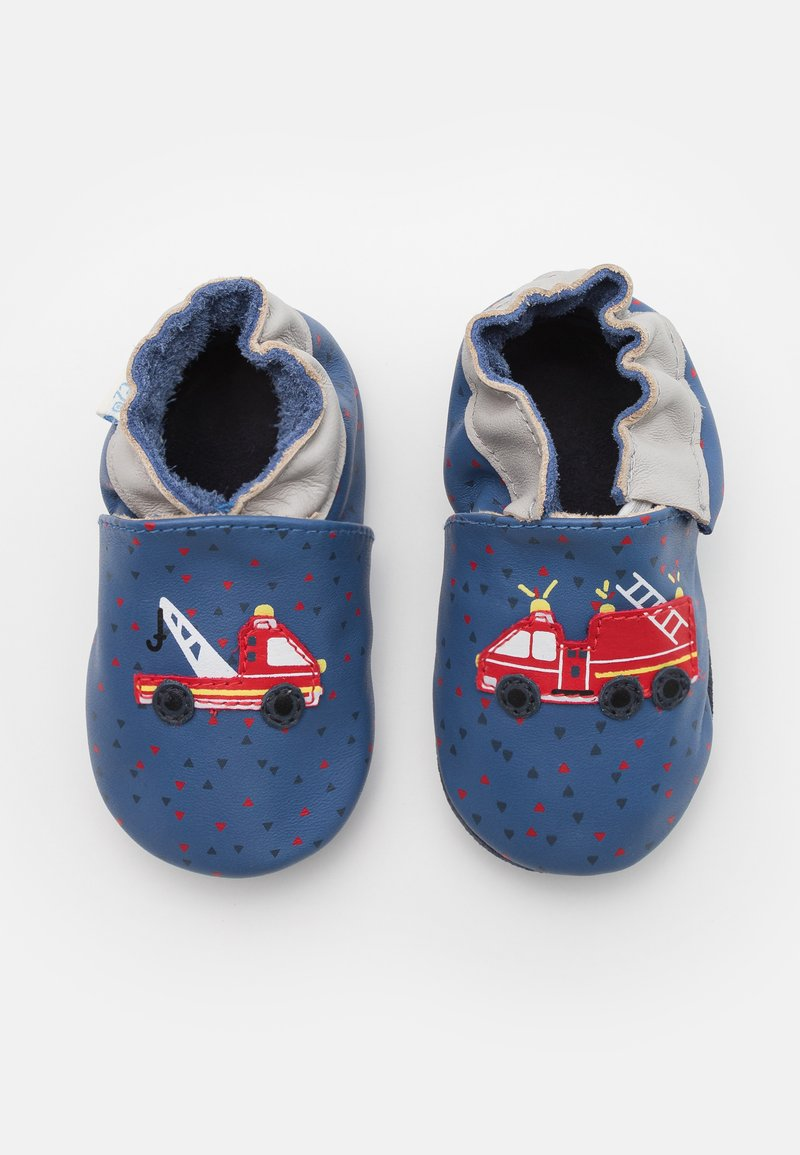 Robeez - FIRE HEROES - First shoes - bleu