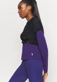 Reebok - SUPREMIUM LONG SLEEVE - T-shirt sportiva - purple - 3