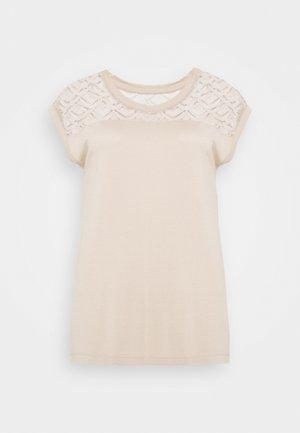 ONLNICOLE MIX - Basic T-shirt - humus