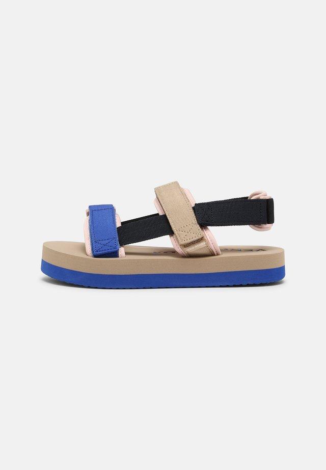 VMLIA - Platform sandals - navy blazer