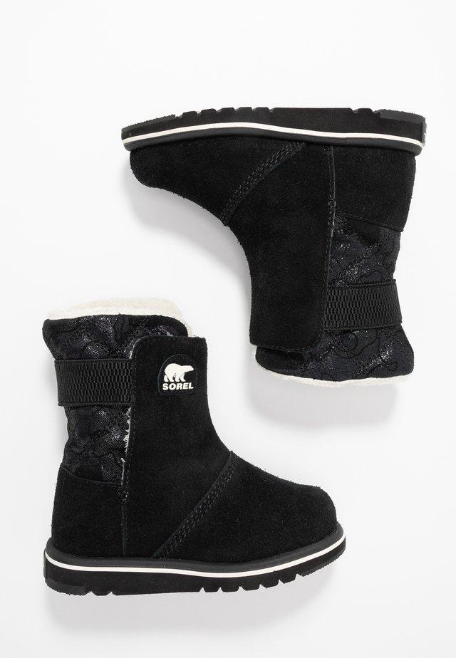 CHILDRENS RYLEE CAMO - Botas para la nieve - black/light bisque