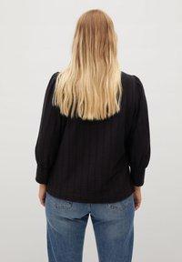 Violeta by Mango - NINA - Long sleeved top - schwarz - 2