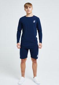 Illusive London Juniors - ILLUSIVE LONDON CORE - Long sleeved top - navy - 1