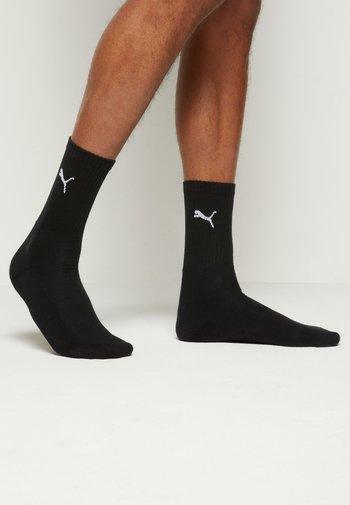 SPORT CREW 6 PACK UNISEX - Sports socks - black