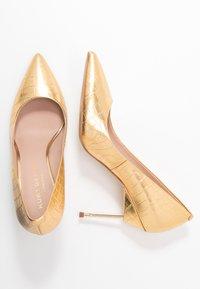Kurt Geiger London - BRITTON - High heels - gold - 3