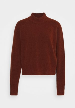 FRANCES CREW NECK  - Strikkegenser - cinnamon