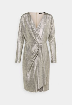Cocktail dress / Party dress - beige/gold