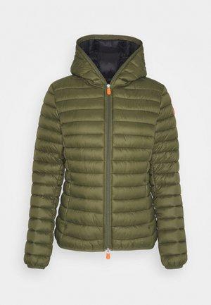 GIGA DAISY HOODED JACKET - Light jacket - dusty olive