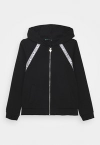 Guess - JUNIOR ACTIVE ZIP - Bluza rozpinana - jet black - 0