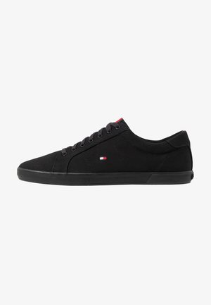 ICONIC LONG LACE - Sneakers laag - black