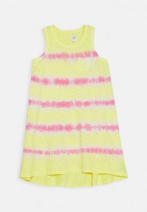GIRL TANK - Žerzejové šaty - yellow sun